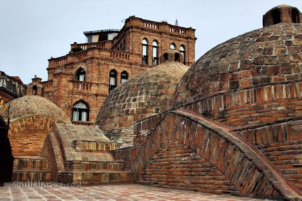 Dome roofed bath houses - Tbilisi