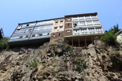 House on cliff - Tbilisi