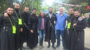 Me and Georgian Singers