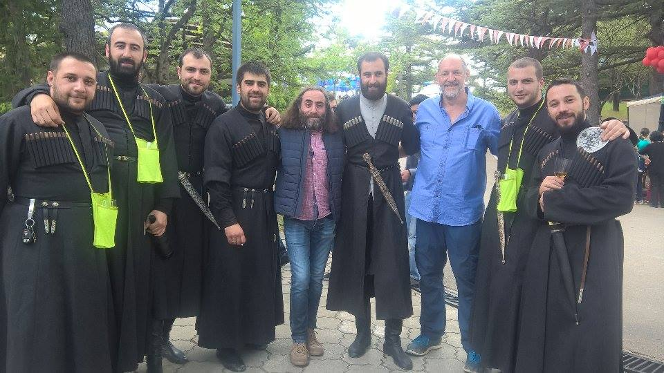 Me and Georgian Singers