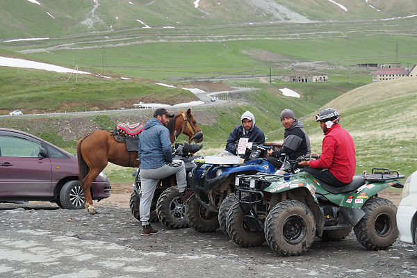 Optional tour via horse or 4-wheeler....