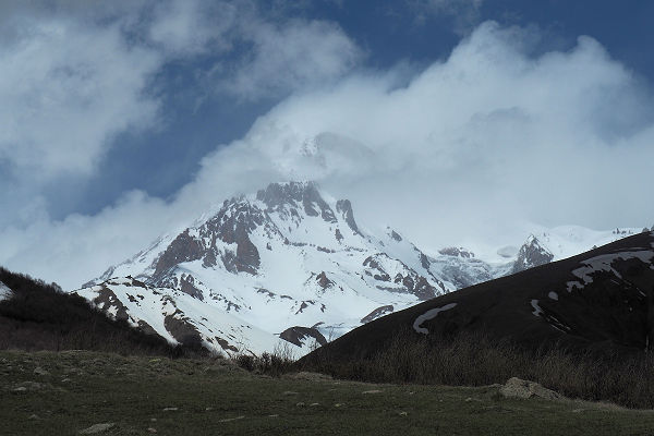 Mt Kazbegi broods,,,