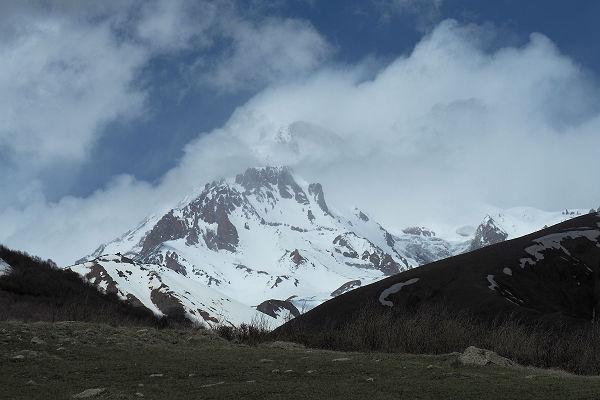 Mt Kazbegi broods,,,