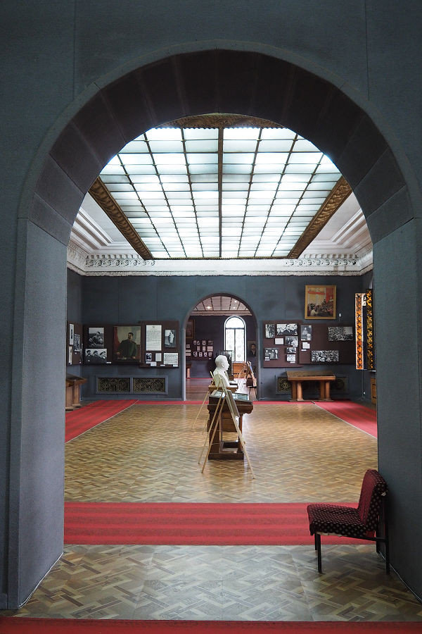 Part of the museum, distracted by the interior