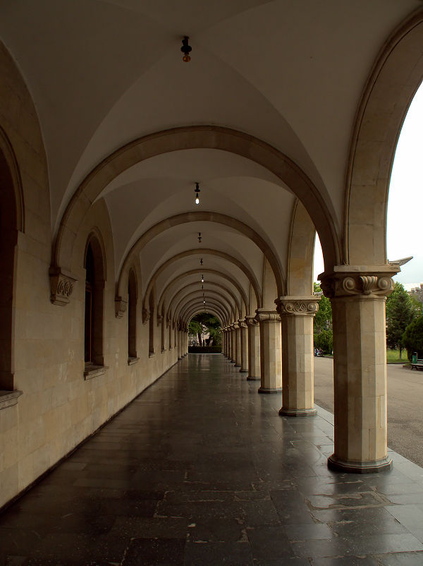 Stalin Museum arches