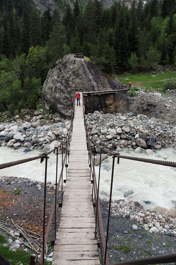 suspension bridge Mestia