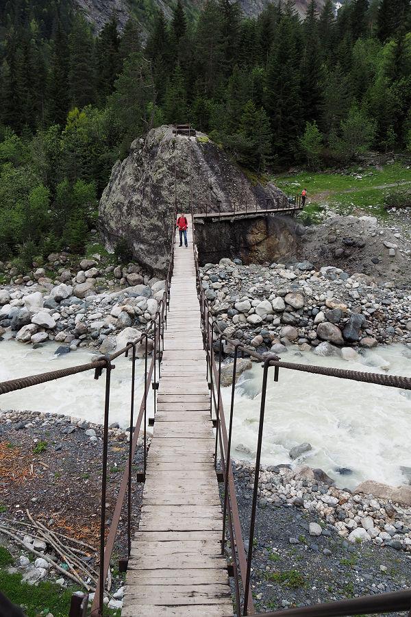 suspension bridge Mestia