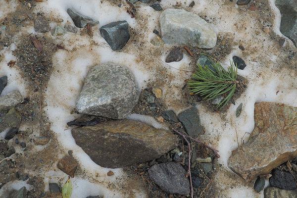 Glacier debris