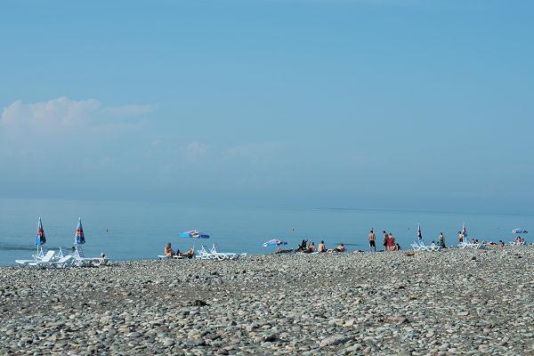 Black sea beach - Georgia