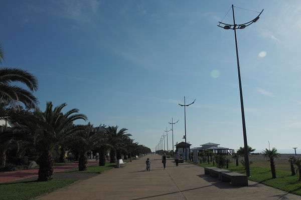 Batumi promenade - south