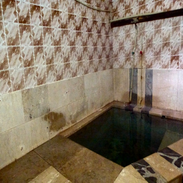 Plunge pool - cleaner than pictures indicate