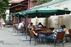Street scene, old Tbilisi